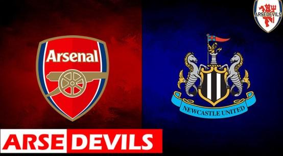 Arsenal Vs Newcastle United, Newcastle