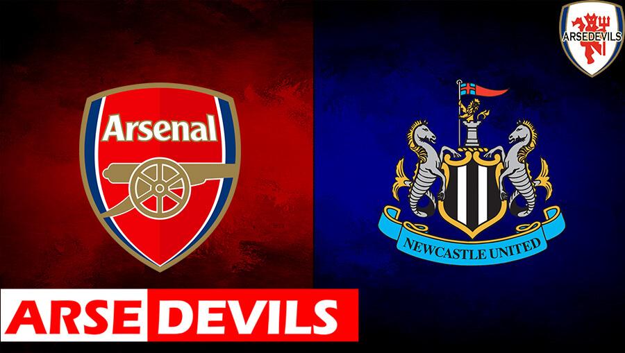 Arsenal Vs Newcastle United, Newcastle, Newcastle United
