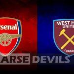 Arsenal Vs West Ham, West Ham, Arsenal v West Ham