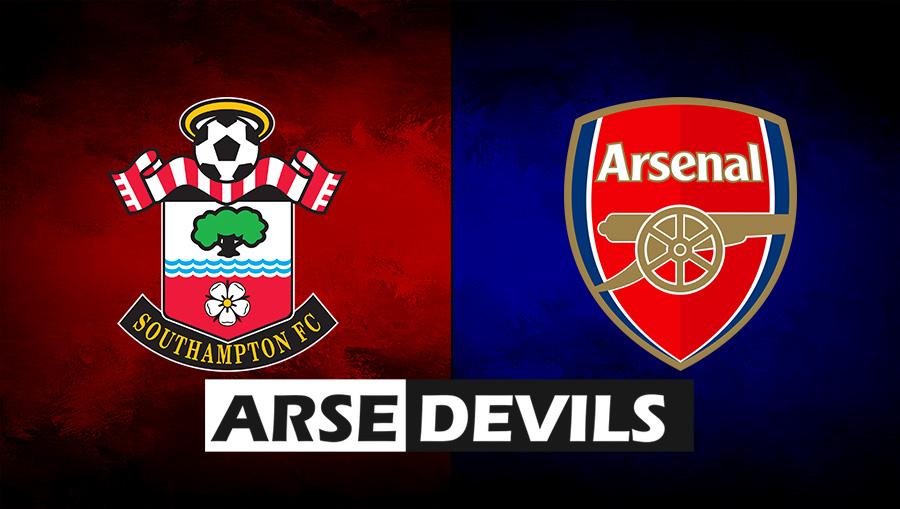Southamton v Arsenal, Southampton FC