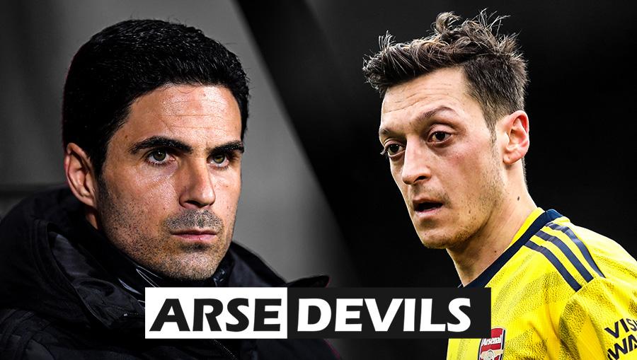 Arteta Mesut Ozil, Arsenal Mesut Ozil, Adrian Durham