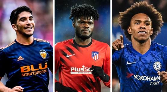 Carlos Soler, Thomas Partey, Willian, Arteta Arsenal transfer summer transfer window, Arsenal rebuild replacements