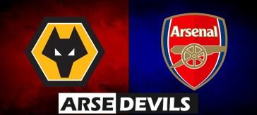 Wolves vs Arsenal, Arsenal Wolves