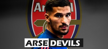 Houssem Aouar, Arsenal transfer, brother