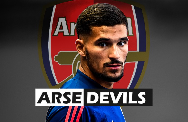 Houssem Aouar, Arsenal transfer, brother