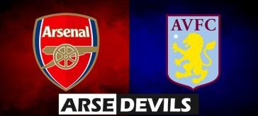 Arsenal Vs Aston Villa, Arsenal v Aston Villa