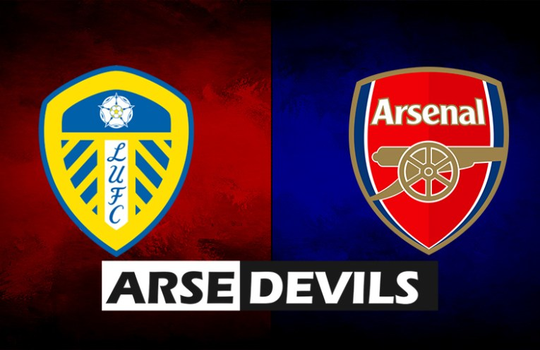 Leeds United vs Arsenal, Leeds v Arsenal