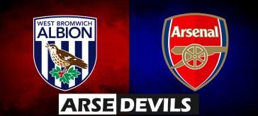 Sam Allardyce, West Brom v Arsenal