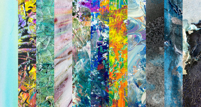 abstract acrylic paint texture
