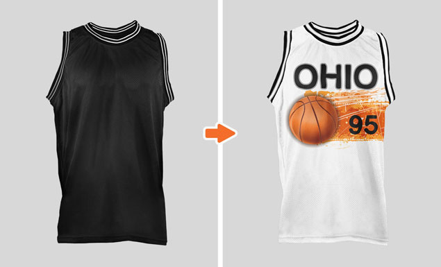 Download Sports Jersey Mockup Template Pack by Go Media
