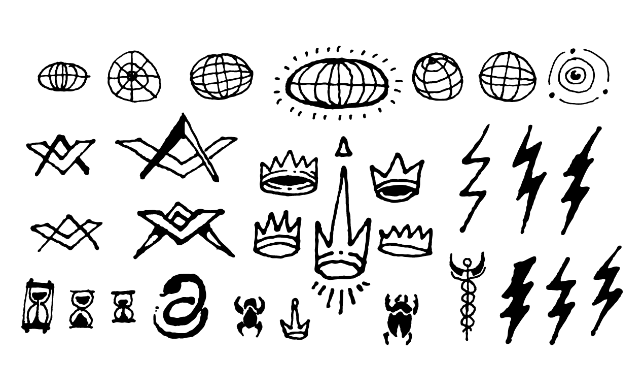 500 Occult Symbols And Esoteric Designs