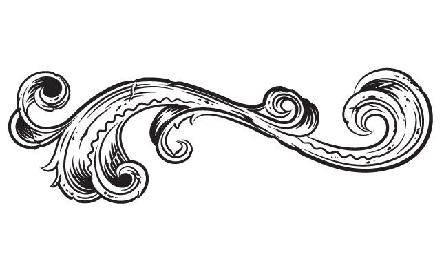 Adobe Illustrator Ornaments Victorian Vector Pack