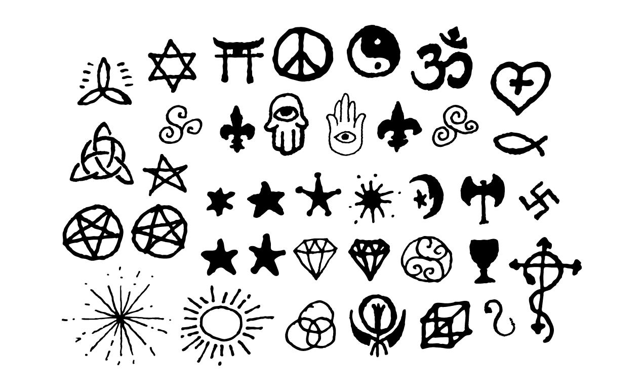 Spiritual Vectors And Esoteric Symbols For Adobe Illustrator