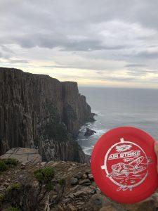 Arsenal Discs Air Strike at Tasman Peninsula