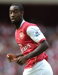 Is Johan Djourou being groomed to take over from Gilberto Silva?