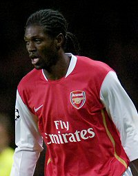 Adebayor deserves playing time based on last season's performances