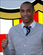 I wish Henry all the best at Barcelona
