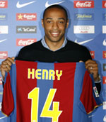 Henry is officially a Barcelona player