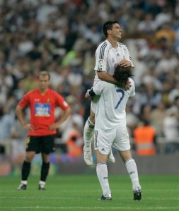 Reyes celebrates a fantastic night for Madrid