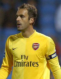 Almunia is ready to take over from Lehmann