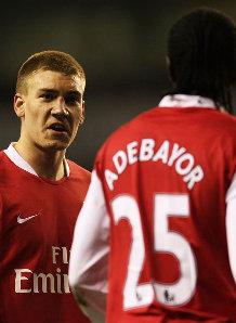 The clash between Bendtner and Adebayor should never have happened