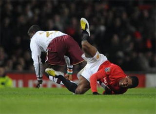 Eboue's tackle on Evra was a selfish and stupid act