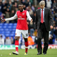 William Gallas and Arsene Wenger reflect on a difficult day
