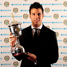 Cesc Fabregas: The PFA Young Player of the Season