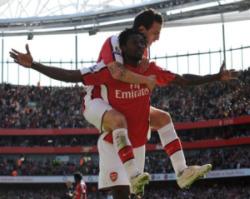 Adebayor and Cesc Fabregas had strong returns