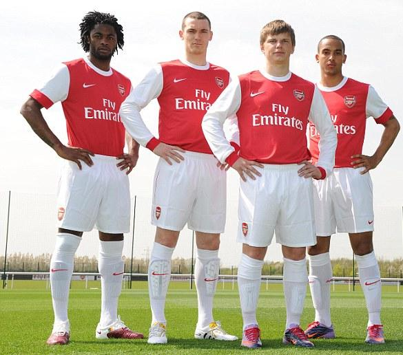 info for 5c2ce 37530 Those 'R Some Snappy New Duds, Lads! Arsenal Home Kit 2010-2011