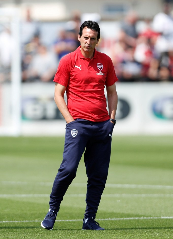 Arsenal urged by former player to have patience with Unai Emery