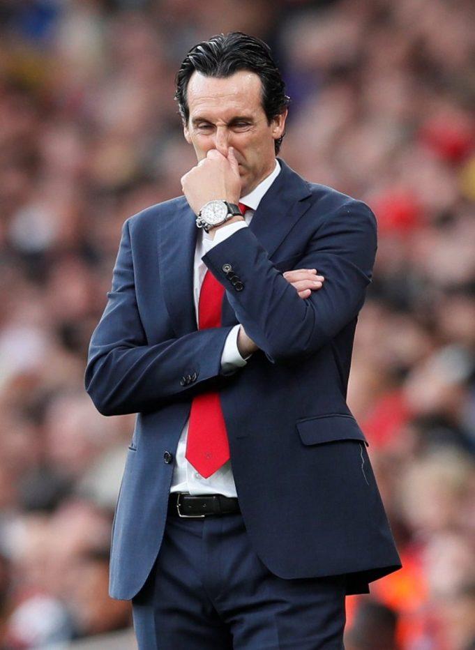 Unai Emery denies rift with Arsenal star