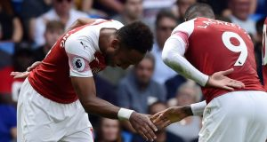 Lacazette opens up on his partnership with Aubayemeng
