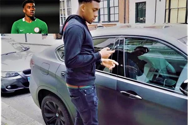 Arsenal Players Cars Alex Iwobi