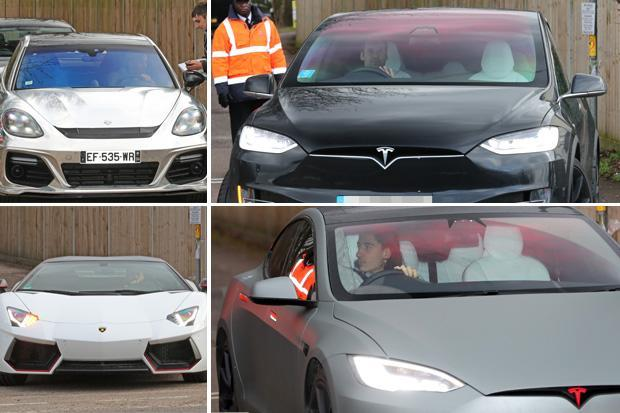 Arsenal Players Cars Hector Bellerin Petr Cech