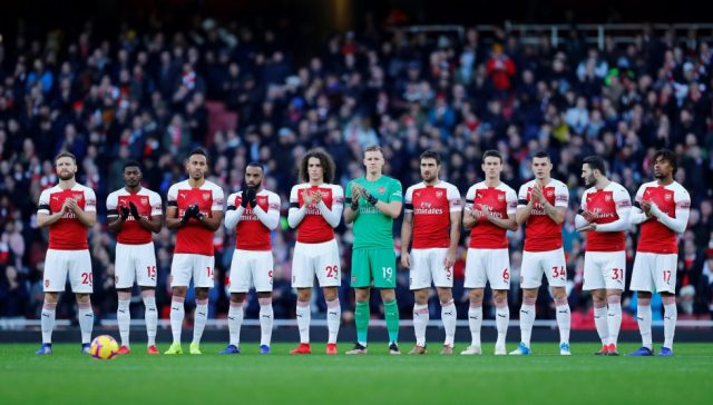 Arsenal Players On Twitter