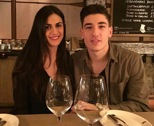 Arsenal Players Wives And Girlfriends Hector Bellerin