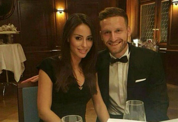 Arsenal Players Wives And Girlfriends Shkodran Mustafi Vjosa Kaba