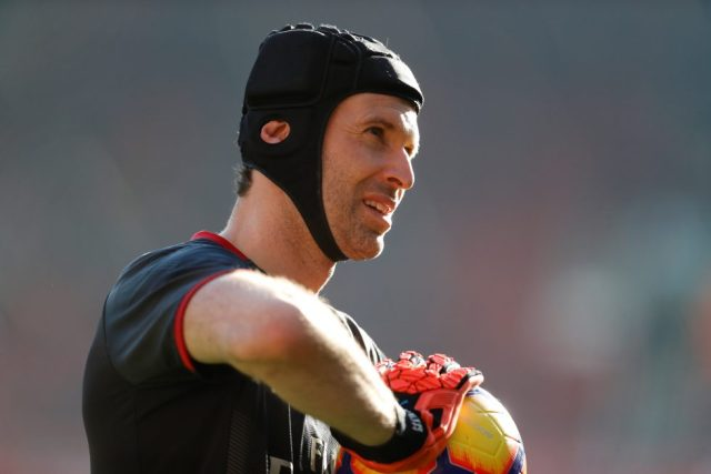 Arsenal Players Young And Old Petr Cech
