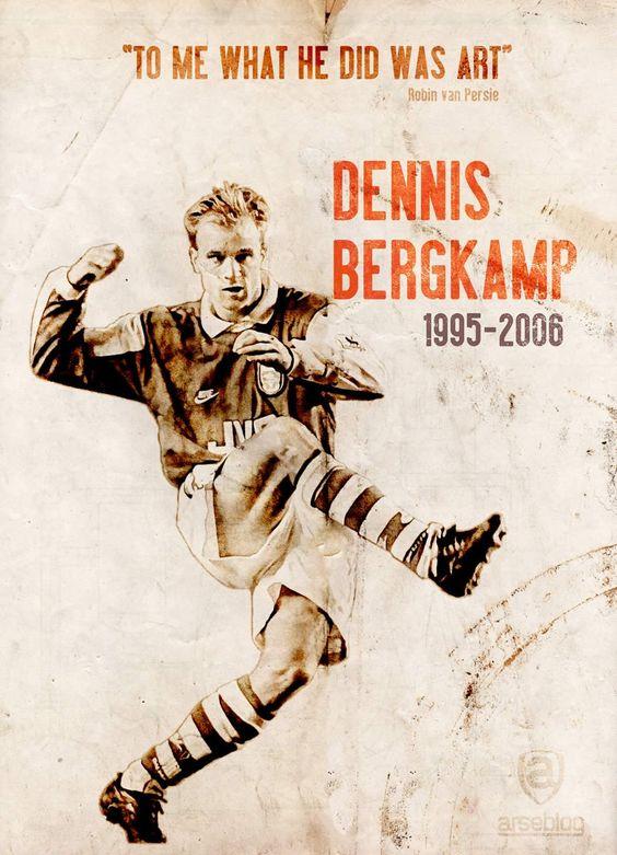 Arsenal Tattoos Of Arsenal Players Dennis Bergkamp