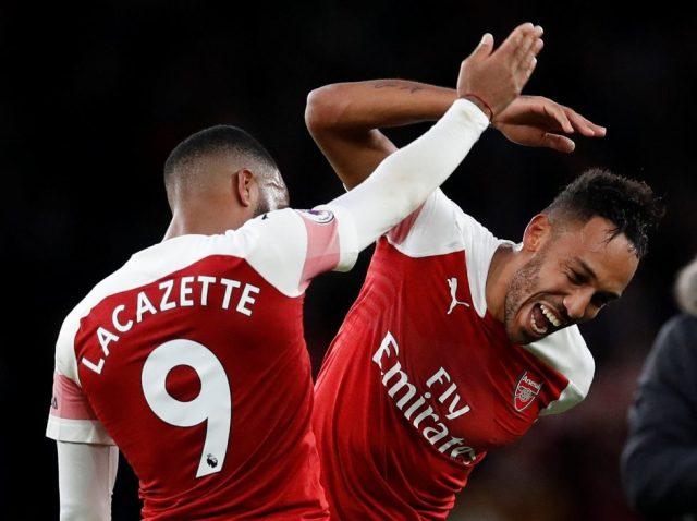 Arsenal Top Scorer This Season 2018-19 Pierre-Emerick Aubameyang