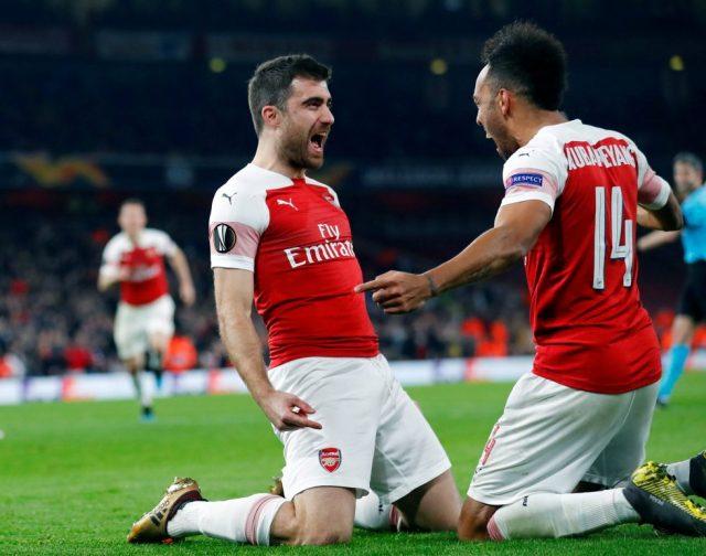 Arsenal Top Scorer This Season 2018-19 UEFA Europa League