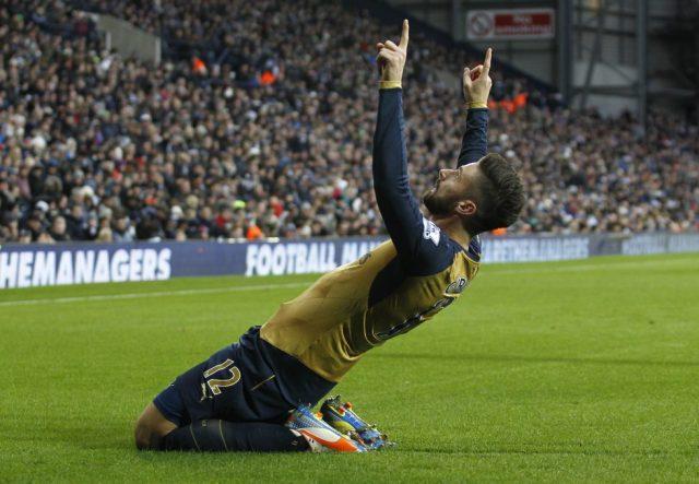 Arsenal Top Goal Scorers Of All Time Olivier Giroud
