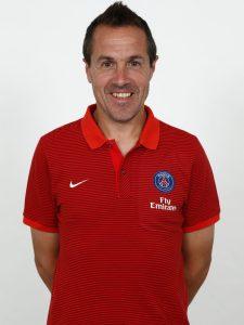 Arsenal first-team coach Pablo Villanueva