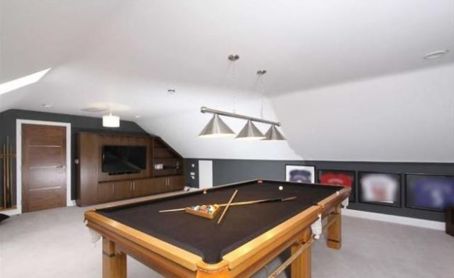 Arsenal Players And Their Houses Jack Wilshere Pool Room