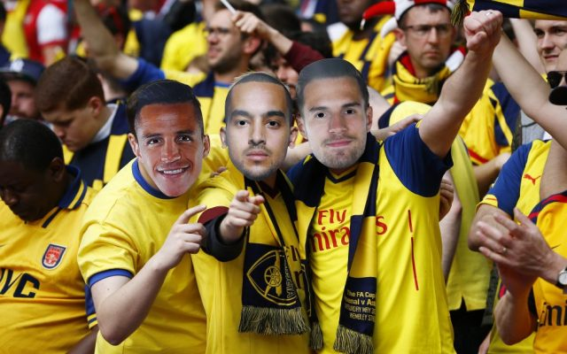 Arsenal Players With Masks