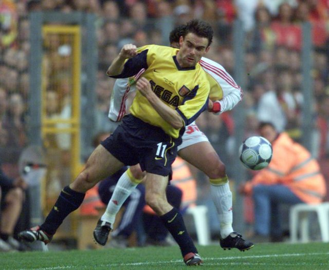 Arsenal Top Scorers Of All Time Marc Overmars