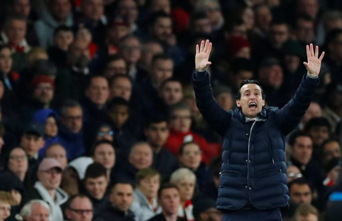 Unai Emery denies any problems with Arsenal's mentality