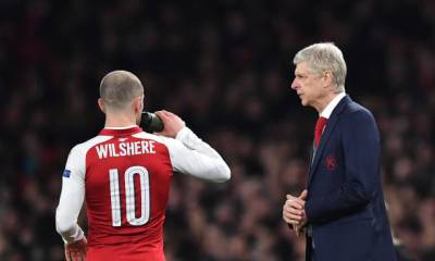 ARSENE WENGER AND JACK WILSHERE