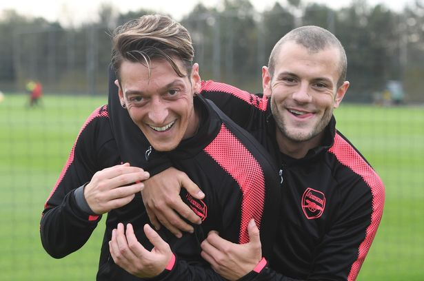 Mesut Ozil Also Sends His Farewell Message To Jack Wilshere